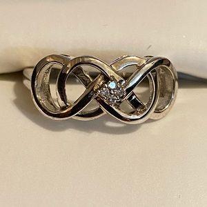 Helzberg Diamonds Infinity Ring